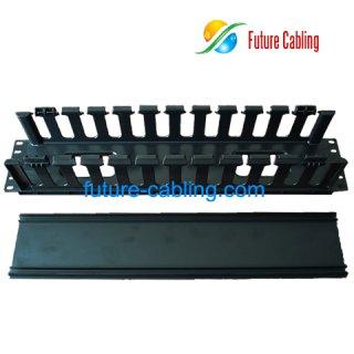 2U Cable Management, Full Plastic