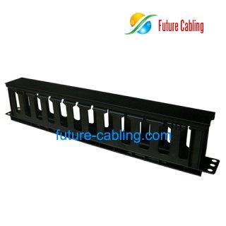 1U Cable Management, Full Plastic