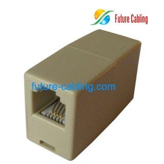 6P4C Telephone In-line Coupler