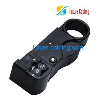 Coaxial Cable Stripper 3 blades model, 108mm