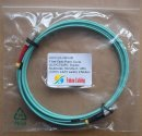 SC-FC 10 Gigabit Fiber Optic Patch Cords, Duplex, Multimode, 50/125um OM3, 3.0mm...