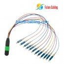 MPO-LC Fan Out Cable, Singlemode, 9/125um, XX Meter