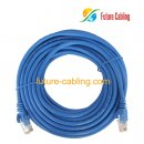 Cat5e UTP Patch Cable, Blue Jacket, 17 Feet