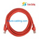 Cat5e UTP Patch Cable, Red Jacket, 7 Feet